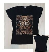 Rare EQUILIBRIUM (German Folk Metal)  Girlie T-Shirt  (L)