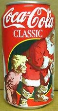 COCA-COLA SUNDBLOM SANTA CLAUS Coke Soda CAN, CHRISTMAS Atlanta, GEORGIA 1995 1+