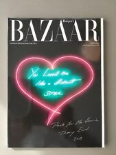 Harper's Bazaar limited Edition Tracey Emin David Bowie April 2013