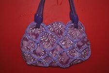Purple handmade ethnic characteristics bag portable purse