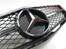 MERCEDES W204 SPORTS GRILLE C300 C280 C200 C350 BLACK FRONT GRILL AMG 08-11
