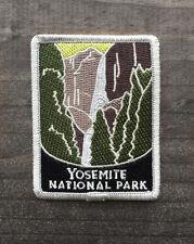 Yosemite National Park Souvenir Patch Traveler Series Falls Iron-on California