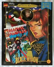 MARVEL MILESTONES BLACK WIDOW FAMOUS COVER SERIES 8 INCH ACTION FIGURE