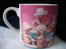 Precious Moments 1995 Coffee Cup - Friendship Fills Life - Cup Mug Enesco