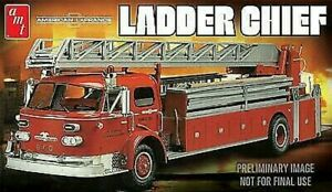 Amt/ Mpc 591204 - 1/25 Lafrance Échelle Chief Fire Truck - Neuf