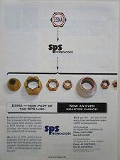 9/1995 PUB SPS ESNA FASTENERS AEROSPACE INDUSTRY FIXATION RIVET VISSERIE AD
