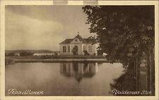 Svendborg Dänemark Danmark AK ~1920/30 Valdemar Slot Schloss Tepavillonen Teich