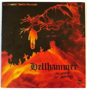 """HELLHAMMER - TRIUMPH OF DEATH - 7"""" EP - U.S. IMPORTED - NEW UNPLAYED - READ DESC"""