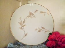 VINTAGE ENTREE PLATE NORITAKE JANIA 5631 WHITE GOLD LEAVES RETRO more AVAILABLE