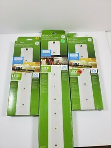 """GE Lot of 3 LED Wireless Under Cabinet Light 2 12"""" and 1 18"""" under cabinet light"""