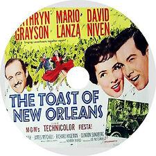 The Toast of New Orleans DVD Mario Lanza Kathryn Grayson David Niven Rare 1950