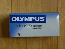 Olympus Stylus Epic 115 QD 35mm Point & Shoot Film Camera