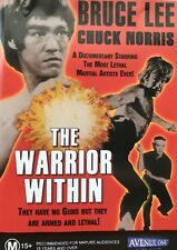 The Warrior Within (dvd 1976) R4 RARE Chuck Norris Bruce Lee
