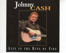 CD JOHNNY CASHlive in the ring of fireEX- (A2321)