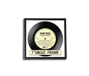 Single Schallplatten Cover Bilderrahmen