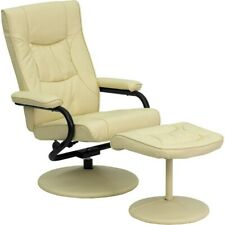 Flash Furniture Cream Leather Recliner, Cream - BT-7862-CREAM-GG
