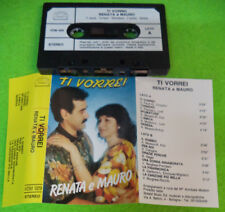 MC RENATA E MAURO Ti vorrei italy SOSAID MUSIC VDM 029 no cd lp dvd vhs