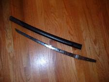 New listing [Sj61] Japanese Samurai Sword: Mumei Wakizashi w Habaki and Saya