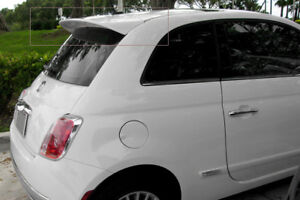 FIAT 500 (from 2007) ABARTH LOOK REAR ROOF /TRUNK /  SPOILER