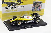 Alain Prost Renault RE40 #15 Formule 1 1983 1:43 Altaya