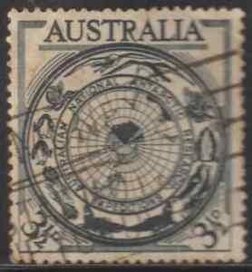 (OL21)AUSTRALIA 1950 NATIONAL ANTARCTIC RESEARCH SET 1V USED