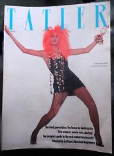 Vtg British UK TATLER 2/1986 Yasmin Le Bon Paula Yates Royals Princess Diana