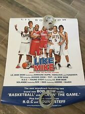 Lil Bow Wow 2002 Be Like Mike Official 2-Sided Promo Poster 24 x 36