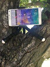 Cell Phone Mini Holder + Flexible Sponge Octopus Stand Tripod + Remote Control