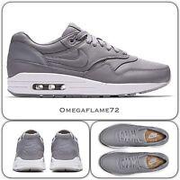 NikeLab Air Max 1 Deluxe Pinnacle Wolf Grey 859554-002 UK 8 EU 42.5 US 9 Nike