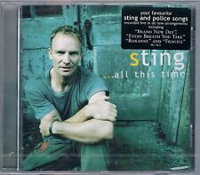 STING (THE POLICE) ...ALL THIS TIME CD SIGILLATO!!!