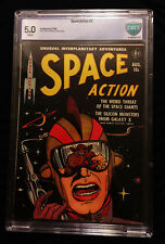 1952 Ace Space Action #2 CBCS 5.0 White Pages