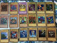 1996 YU'GI-OH Monsters, trap, & magic lot! Offers accepted!! 100% seller rating!