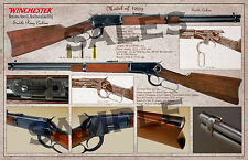 Winchester Lever Action Model of 1892 Saddle Ring Carbine Poster 11 x 17