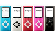 Nuevo 16 GB EVO Elite MP3 reproductor de medios de MP4 Video Musical Sintonizador Fm Juegos registro de voz +