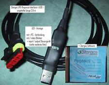 Stargas lpg diagnóstico Interface USB LED 2,8 M + software Polaris elios + Perseo