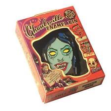 Vampyra Girl Enamel Pin Ghoulsville Ben Cooper Halloween Retro Horror Vampira