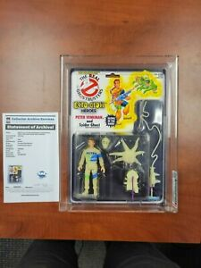 Kenner Real Ghostbusters Ecto Glow Ray Statz and Peter Venkman