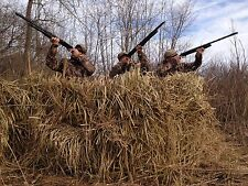 Quack Grass Palm Thatch Camo Duck Blind Material (5'Hx4'W - 4 sheets per bundle)