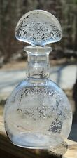 RARE VINTAGE Decanter  BACCARAT Intricate Etched Glass MARILLON