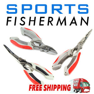 Stainless Steel Pliers Split Ring, Long Nose or Line Cutter Pliers