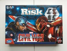 Hasbro RISK: Marvel Captain America: Civil War Edition Board Game 10+   Avengers