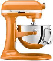 KitchenAid 6-Quart Pro 600 Bowl-Lift Stand Mixer | Tangerine