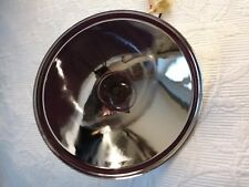 AUSTIN SEVEN 7 RUBY HEADLIGHT REFLECTOR UNIT. 6 1/2 INCH DIAMETER.