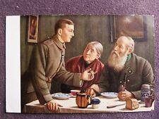 Wie ich das Eiserne Kreuz erwarb - Künstlerkarte des Volkskunstverlags / 84