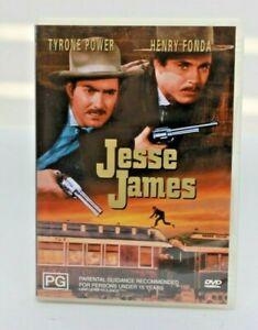Jesse James  DVD Free post.