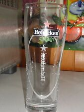 HEINEKEN       BEER  GLASS      6.75 INCHES TALL