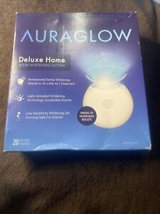 AURAGLOW Deluxe Home Teeth Whitening System (20 Treatments) 04/22