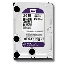 """2TB WD Purple Surveillance Sata Hard Drive 3.5"""" Western Digital WD20PURX *"""