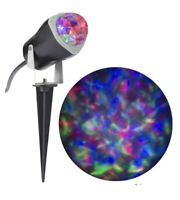 Gemmy Lightshow Projection Fire And Ice Multicolor Holiday Christmas Halloween