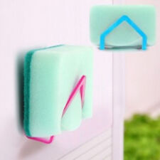 Wash Sponge Sink Tub Dish Cloth Storage Rack Holder Suction Cup Kitchen Tool TB